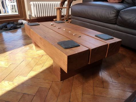 Railway Sleeper Size by Kingsize Bed Coffee Table From Railway Sleepers