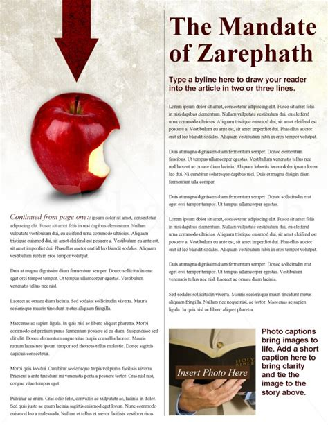 apple church newsletter template template newsletter