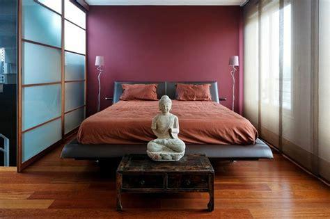 chambre asiatique  zen pour  sommeil facile  serein