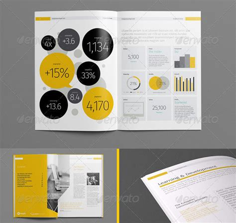 20 Best Indesign Annual Report Templates Print Idesignow Annual Report Template