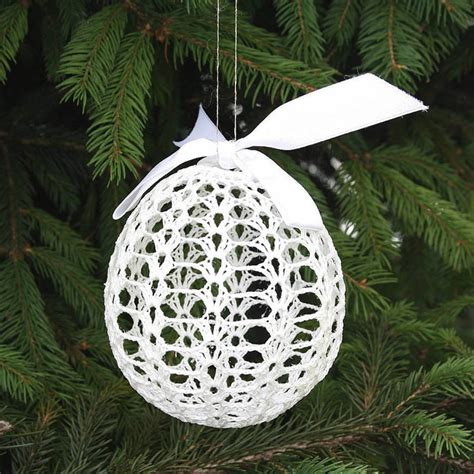crochet pattern christmas tree ornament crocheted christmas tree ornaments
