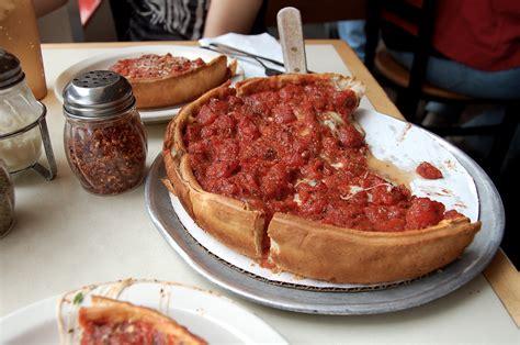 Pizza Description by Chicago Style Dish Pizza Recipes Dishmaps