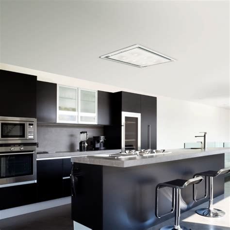 Ceiling Cooker Hoods by Anzi Ceiling Cooker Slimline Motor White