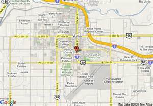 yuma arizona map state map of clarion suites yuma yuma
