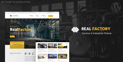 themeforest industrial theme real factory v1 0 2 factory industrial construction