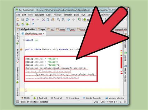 unir cadenas java c 243 mo comparar cadenas de caracteres en java con fotos