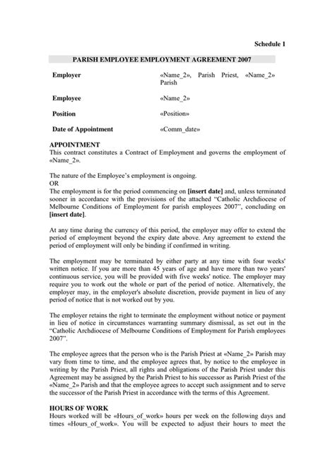 contra agreement template employment agreement sle in word and pdf formats