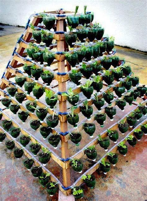 13 plastic bottle vertical garden ideas soda bottle