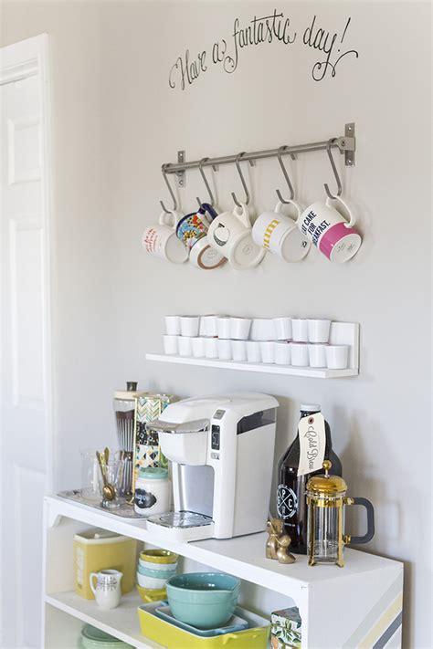 DIY Grundtal Bar IKEA Hack   Coffee Bar Styling » Dream Green DIY