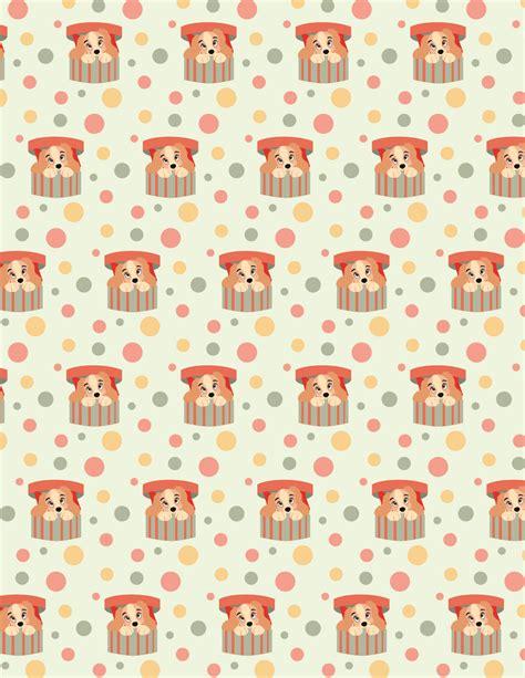 printable wrapping paper cute scrapbook paper cute kawaii resources