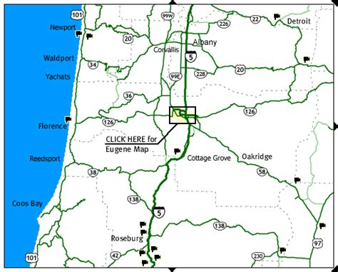 map of western oregon western and coastal oregon road and traffic cams