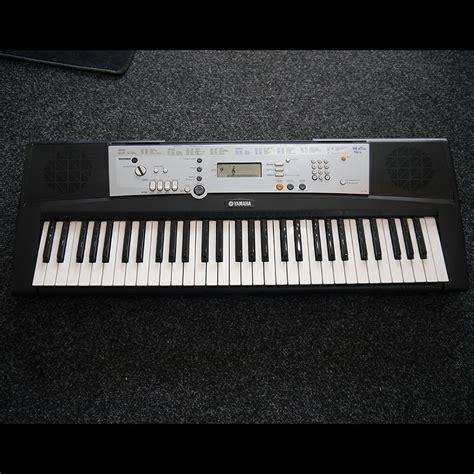 yamaha ypt 200 portable electronic keyboard 2nd rich tone