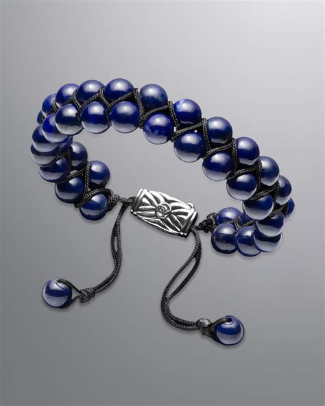 david yurman spiritual bead bracelet david yurman spiritual bead bracelet lapis in blue for