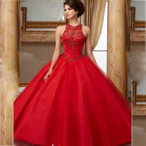scarlet corset quinceanera dress simple jeweled beaded debutante gown navy halter open back