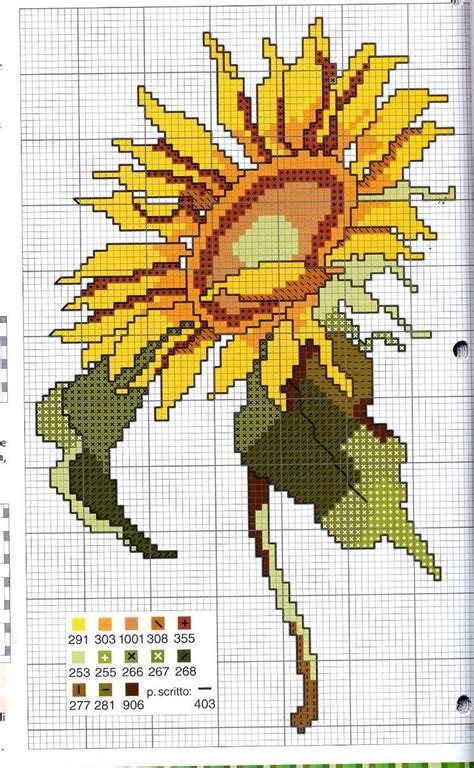 Bantal Sunflower 1000 images about cross stitch sunflowers on sunflowers cross stitch and punto croce