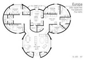 Dome House Floor Plans 5 Beroom Dome Home Floor Plans Medium Dl 3204 Png