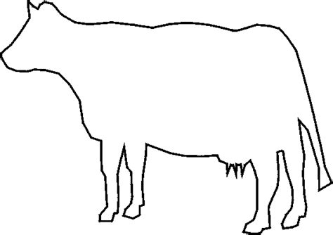 cow stencil free cow stencil to print and cut out