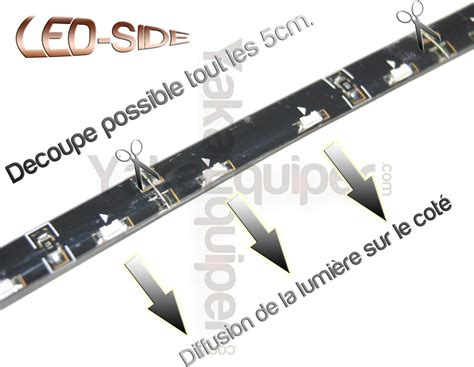 Side Eclairage by Pack Bande Led Side 30cm Eclairage De Cot 233