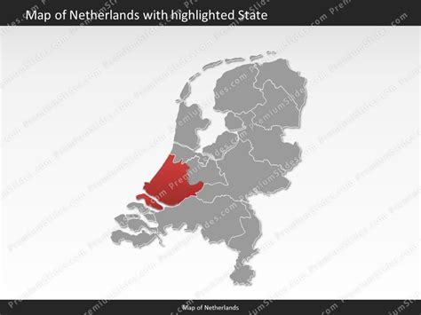 netherlands map powerpoint free netherlands map editable map of netherlands for