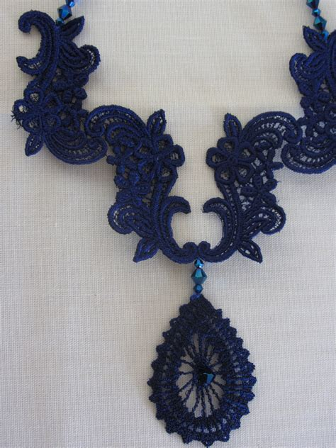 embroidery design lace all things pretty machine embroidery lace jewelry