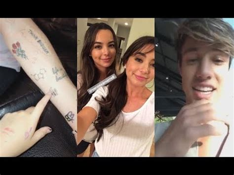 tattooed heart merrell twins merrell twins cameron dallas bobby s tattoo