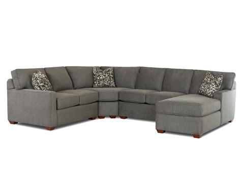 contemporary l shaped sectional sofa with right arm facing