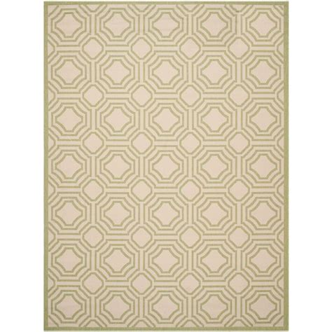 8 foot indoor outdoor rugs safavieh courtyard beige sweet pea 8 ft x 11 ft indoor outdoor area rug cy6112 218 8 the