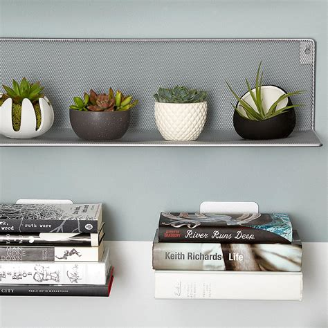 floating bookshelf umbra conceal book shelves the