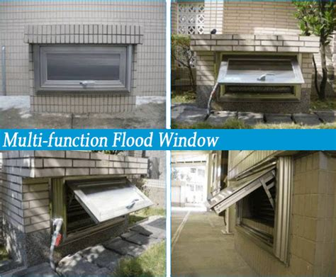 multi function flood window dai chen watertight gate
