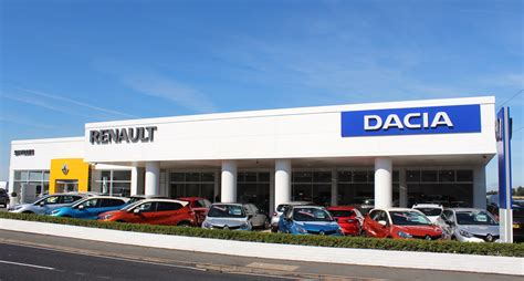 Used Car Garages In Worcester by Savilles Garage Chooses Renault And Dacia For Dealership