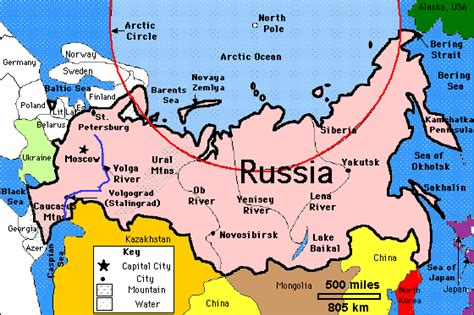 russia physical geography map quiz russia s physical features thinglink