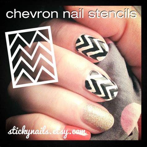 Nail Stencils by Chevron Nail Stencils