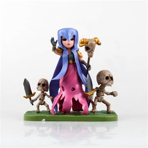 Clash Of Clan Wizard With Rabbit clash of clans figures clash wiki