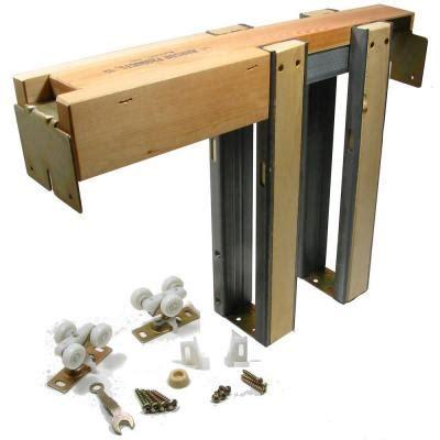 36 Pocket Door Kit by Johnson Hardware 1500 Series Pocket Door Frame For Doors