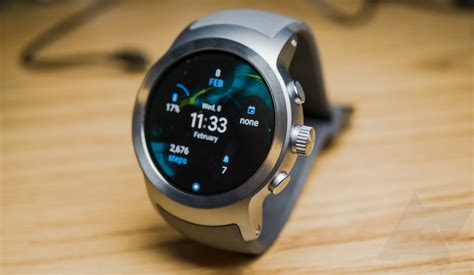 Smartwatch Lg lg sport review the right smartwatch for the wrong audience
