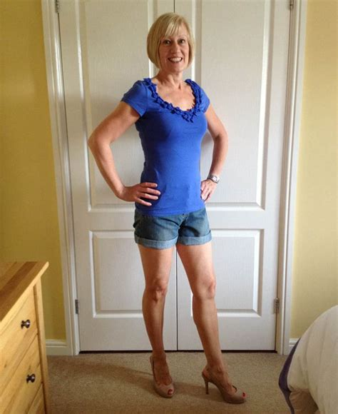 50 yr old ladies with short shorts like fern britton we re over 40 and love showing off our