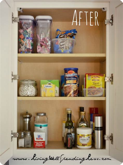 Organize Your Kitchen Cabinets How To Organize Kitchen Cabinets Casual Cottage