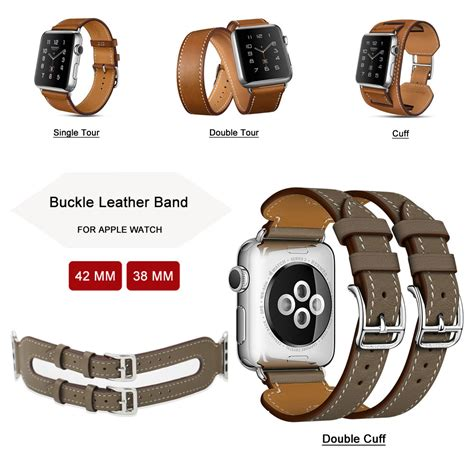Single Tour Leather Band For Apple 38mm 5 38mm Genuine Leather Band For Apple Single