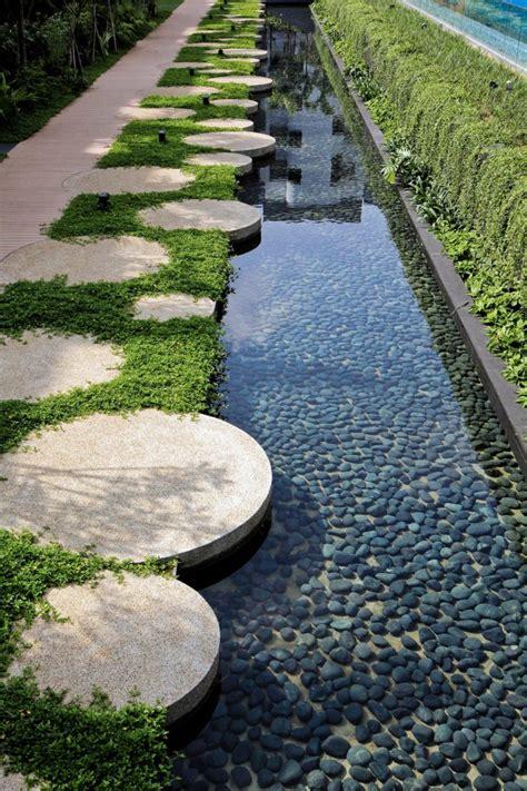 garten gestalten mit wasser am 233 nagement jardin moderne 55 designs ultra inspirants