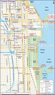 Maps Chicago by Chicago Illinois Map