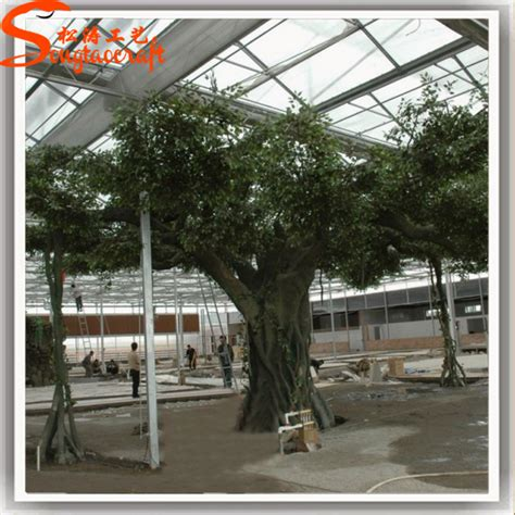 realistic artificial tree bark large artificial decorative tree trunk tree roots for decoration
