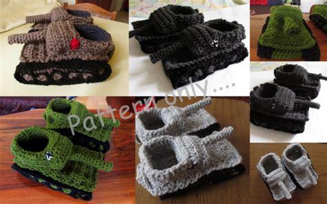 crochet tank slippers pattern free tiger 1 slipper crochet pattern diy crochet tank slippers