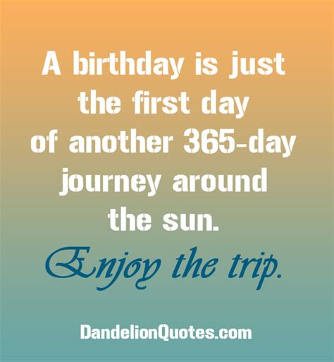 Quote About Birthdays 64 Birthday Quotes Quotesgram