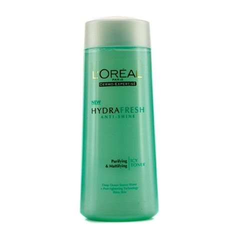 L Oreal Hydrafresh Toner l oreal dermo expertise hydrafresh anti shine purifying