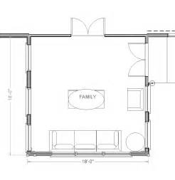 Room Addition Floor Plans by Family Room Addition Plans Marceladick Com