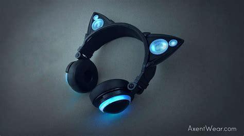 Headphone Nekomimi Rep Your With Axent Wear Cat Earphones