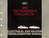 1995 Ford Thunderbird Amp Mercury Cougar Xr7 Electrical
