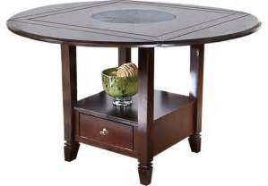 faux marble top counter height table