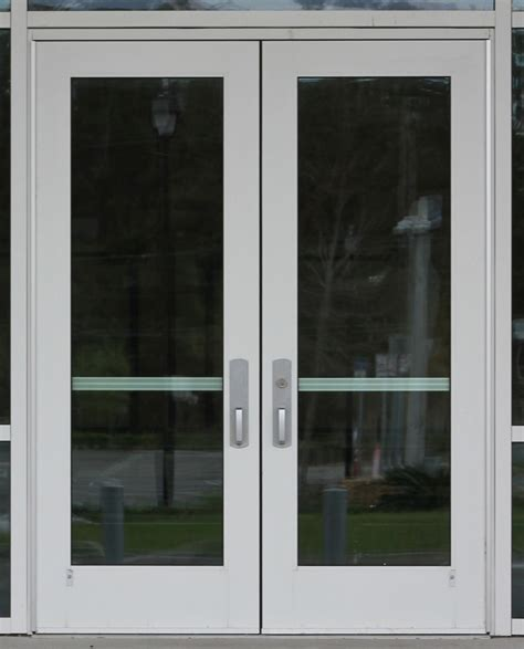 Commercial Glass Double Door Texture 14textures Commercial Glass Entry Doors