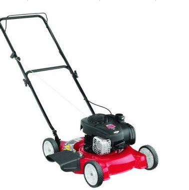 home depot briggs stratton walk lawn mower 99